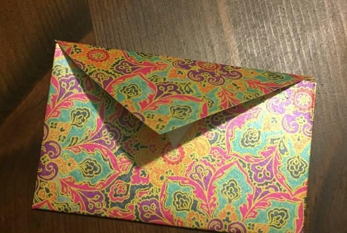 DIY Folded Paper Envelope Tutorial….