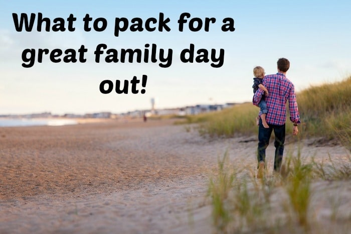 What to pack for a great family day out….