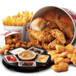 NEWS: KFC Tenders Dippin' Bucket (12 Nuggets, 8 Tenders, Popcorn Chicken & more)