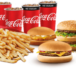 DEAL: McDonald's – $27.95 Family McFavourites Box (4 Burgers, 2 Family Fries, 10 Nuggets, 4 Soft Drinks)