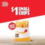 DEAL: Hungry Jack's $1 Small Chips