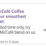 DEAL: McDonald's – Free McCafe Coffee on mymacca's app (December 12)