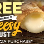DEAL: Domino's Offers App – Free Cheesy Crust with Traditional/Premium Pizza Purchase (17 September)
