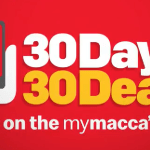 DEAL: McDonald's – 30 Days 30 Deals with mymacca's app in November 2019 (Full Calendar)