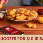 DEAL: KFC – 24 Nuggets for $10 is back