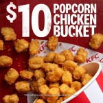 DEAL: KFC $10 Bucket of Popcorn Chicken (App Only)