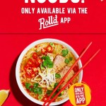 DEAL: Roll'd – Free Bún Bò Huế (Spicy Beef Noodle Soup) on the Roll'd App