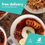 DEAL: Deliveroo – Free Delivery for PappaRich