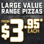 DEAL: Domino's – $3.95 Value Pizza (30 November 2019)