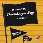 DEAL: Domino's – 5,000 Free Large Double Bacon Cheeseburger Pizzas (18 September 2019)