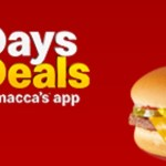 DEAL: McDonald's – $1 Cheeseburger on mymacca's app (13 November 2019 – 30 Days 30 Deals)