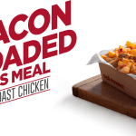 DEAL: Red Rooster – $5 Bacon Loaded Chips Meal with 250ml Coke No Sugar