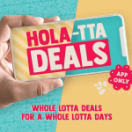 DEAL: Salsa's App – $5 Steak Chip Burrito (21 November 2019)