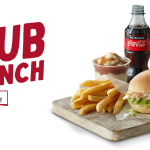 DEAL: Red Rooster – $5 Sub Lunch (Sub, Small Chips, Mash & Gravy & 250ml Coke)