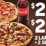 DEAL: Pizza Hut – 2 Pizzas + 2 Sides $24.80 Pickup/$29.95 Delivered, 3 Pizzas + 3 Sides $34 Delivered & More