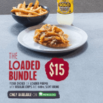 DEAL: Schnitz – $15 Loaded Bundle via Menulog (Loaded Parma, Chips & 600ml Drink)