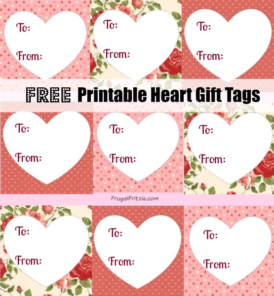 Free Printable Heart Gift Tags Love Quotes For Valentines
