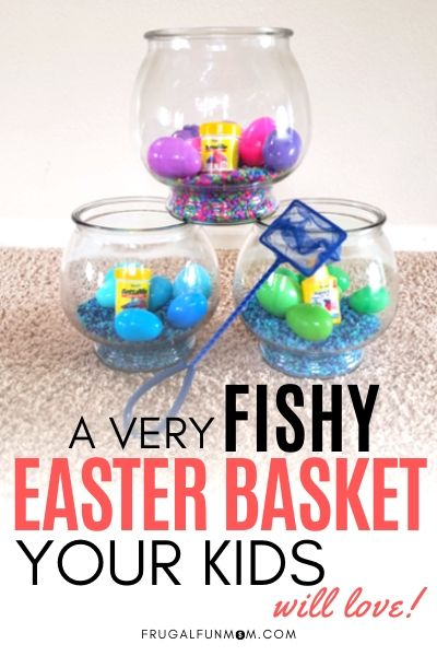 Fishy Easter Basket Your Kids Will Love