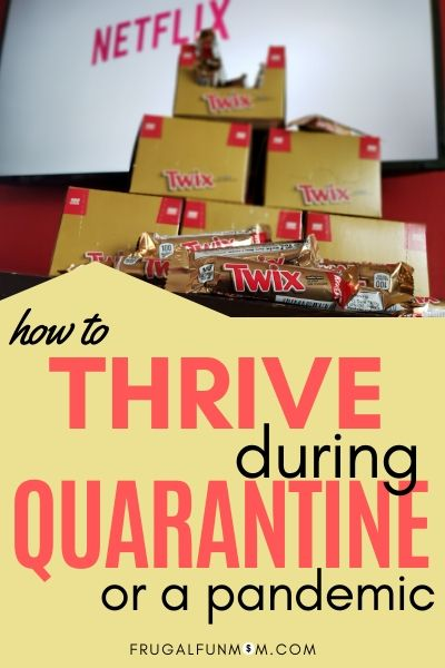 How To Thrive In Quarantine | Frugal Fun Mom