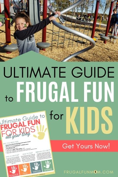 Free Fun Ideas Fro Kids | Frugal Fun Mom