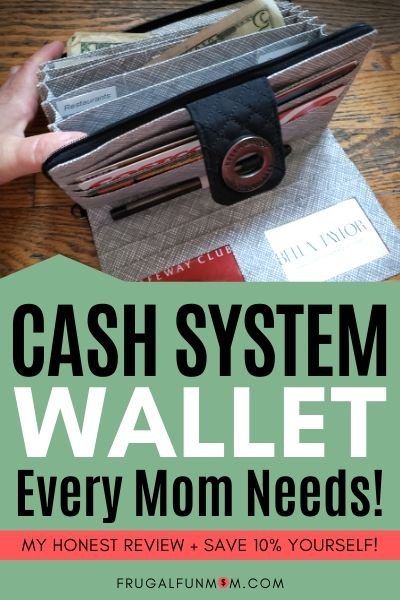 Cash System Wallet Every Mom Needs | Frugal Fun Mom