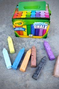 How to Make A Chalk Mosaic | Frugal Fun Mom
