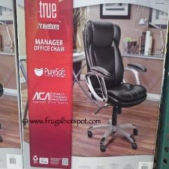 True Innovations Office Chair Ikea Patio Cushions Costco Sale Manager 79 99 Frugal