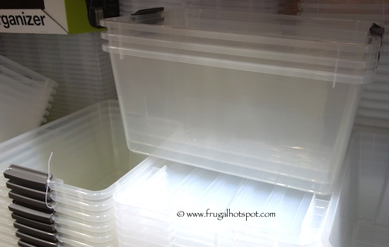 Costco Sale Iris Storage Box 45 Quart 3 Pack 1449 Frugal Hotspot