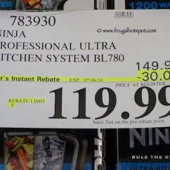 Ninja Ultra Kitchen System Pantry Cabinet Plans 1200 Costco Price Frugal Hotspot