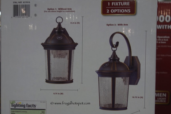 altair lighting outdoor led lantern 29 99