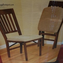 Wooden Folding Chairs For Sale Pink Swivel Desk Chair Costco Stakmore Solid Wood 24 99 Frugal Hotspot With Padded Seat