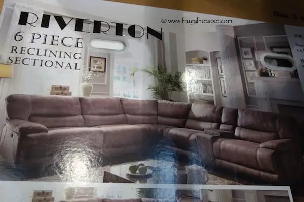 cheers riverton 6 piece reclining