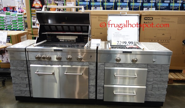 costco kitchen aid painted round table sale kitchenaid 7 burner island grill 1 999 99 frugal hotspot