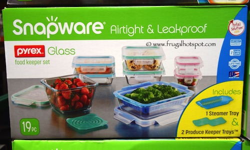 Costco SALE Snapware Pyrex Glass Food Storage 19Piece
