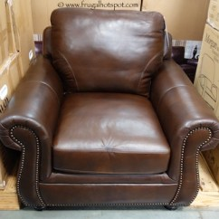 Costco Leather Chairs Glider Rocking Chair Slipcovers Clearance Marks Cohen Savoy 249 97 Frugal