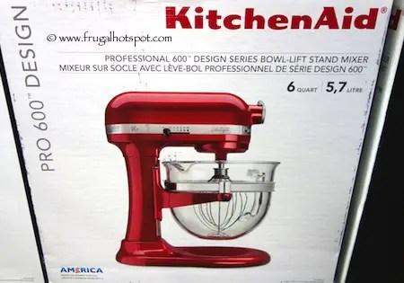 KitchenAid 6 Quart Pro 600 Design Series Bowl Lift Mixer