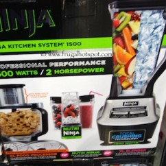 Ninja Mega Kitchen 1500 Natural Cherry Cabinets Costco Sale System 129 99 Frugal Hotspot