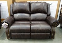 Costco: Berkline Reclining Leather Loveseat $949.99
