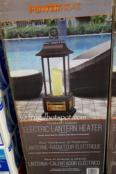 Costco PowerHeat Tabletop Electric Lantern Heater