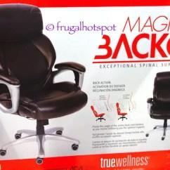 Ergonomic Chair Tilt Birthday Cover Costco Sale: True Innovations Magic Back Manager $129.99 – Frugal Hotspot