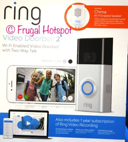 ring doorbell for sale kohler mand racing parts costco video 2 149 99 frugal hotspot at