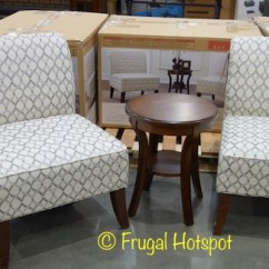 Ave Six Chair Pub Tables And Chairs Costco Avenue 3 Pc Fabric Table Set 279 99 Frugal Item 1158042 This Product Was Spotted At The Covington Wa Location Price Participation May Vary So It Not Be Available Your Local