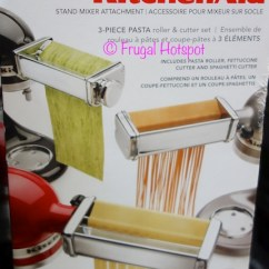 Costco Kitchen Aid Sinks And Faucets Sale Kitchenaid 3 Pc Stand Mixer Attachments 49 99 Frugal Piece At