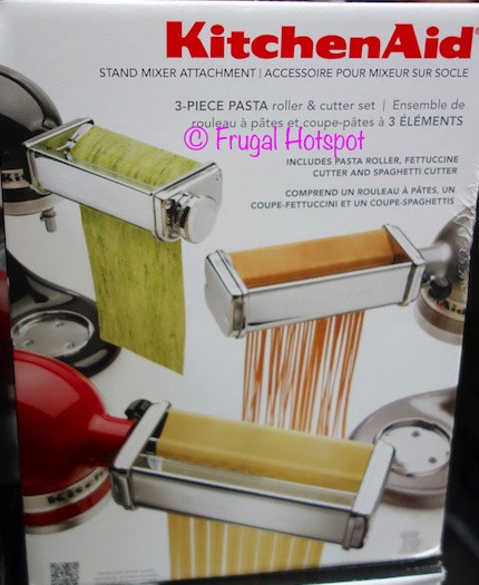 costco kitchen aid small tv for sale kitchenaid 3 pc stand mixer attachments 49 99 frugal piece at