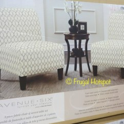 Ave Six Chair Gaming Black Friday Costco Sale Avenue Fabric Accent Table 3 Pc Set 149 99 Piece At