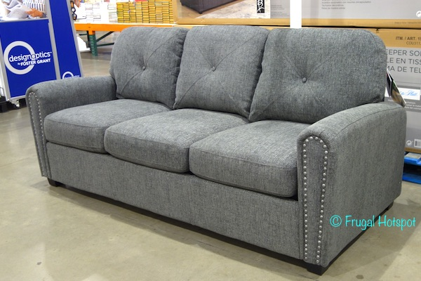 dakota sofa costco mid century convertible sleeper frugal hotspot bainbridge tucker fabric 649 99