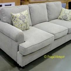 Dakota Sofa Costco Deep Sofas Melbourne Sleeper Frugal Hotspot Bainbridge Fabric 699 99