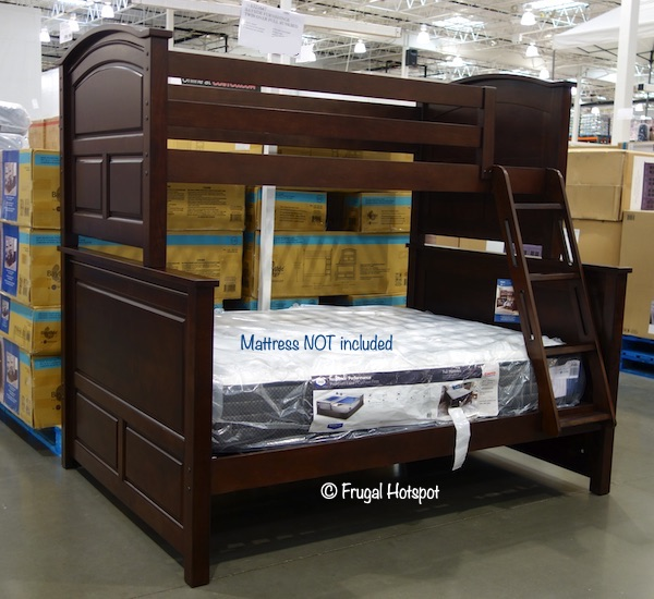 bayside furnishings twin over full bunk