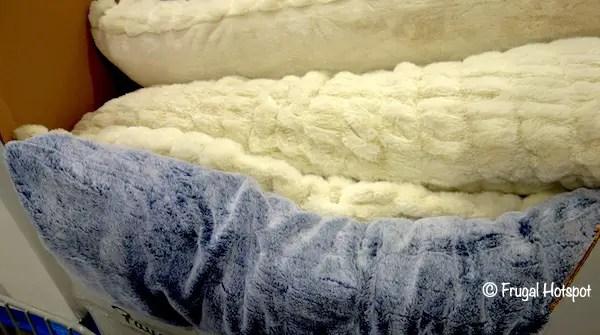 microtex faux fur body pillow 12 99