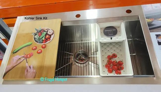 kohler stainless steel sink kit 199 99